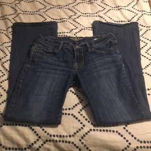 Lucky Brand bootcut Jeans, size 2/26.